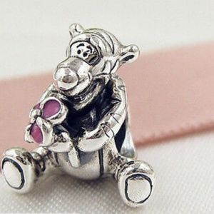 Jewelry - 925 Sterling Silver Tigger Charm Bead